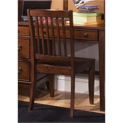 Liberty Furniture Chelsea Square Student Desk Chair in Tobacco