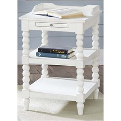 Liberty Furniture Harbor View Side Table in Linen
