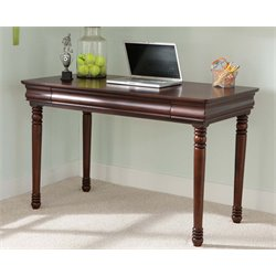 Liberty Furniture Carriage Court Writing Desk in Mahogany Stain
