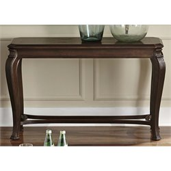 Liberty Furniture Ellington Console Table in Distressed Cherry
