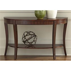 Liberty Furniture Bradshaw Console Table in Rich Cherry
