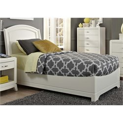Avalon II Panel Bed in White Truffle