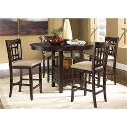 Liberty Furniture Santa Rosa 5 Piece Counter Height Dining Set