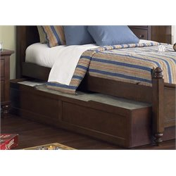Liberty Furniture Abbott Ridge Twin Trundle in Cinnamon
