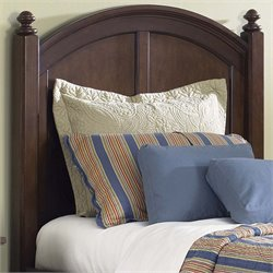 Abbott Ridge Panel Headboard in Cinnamon