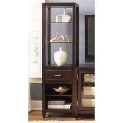Liberty Furniture Caroline Entertainment Pier in Espresso Stain