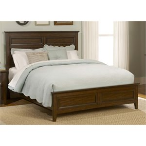 Laurel Creek Panel Bed in Cinnamon