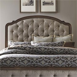 Amelia Upholstered Headboard in Antique Toffee