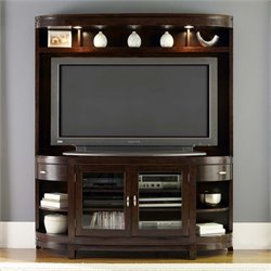Avalon TV Stand in Dark Truffle