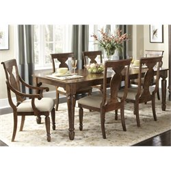 Rustic Traditions Dining Set in Rustic Cherry