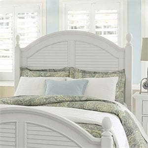 Summer House Poster Headboard in Oyster White