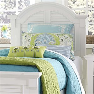 Summer House Panel Headboard in Oyster White
