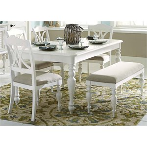 Summer House Dining Set in Oyster White