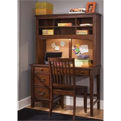 Chelsea Square Student Desk in Burnished Tobacco