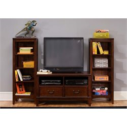 Liberty Furniture Chelsea Square 3 Piece Entertainment Center