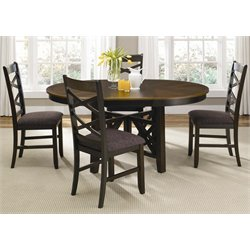 Bistro Oval Pedestal Dining Table