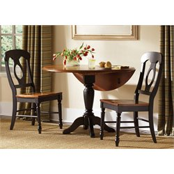 Low Country 3 Piece Drop Leaf Dining Set (B)