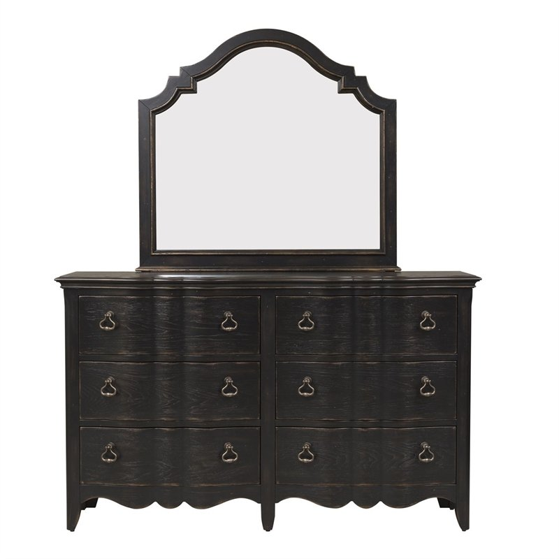 Liberty Furniture Chesapeake Bedroom 6 Drawer Dresser