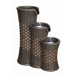 Alfresco Home Everwoven Outdoor Fountain