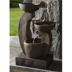 Alfresco Home Cascade Outdoor Fountain