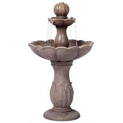Alfresco Home Lyon Outdoor Fountain