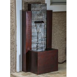 Alfresco Home Morningside Resin Fountain with Pump