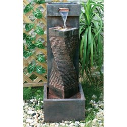 Alfresco Home Spiral Fountain