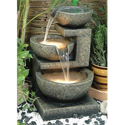 Alfresco Home Rocca Outdoor Fountain