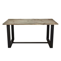 Diamond Sofa Dakota Dining Table in Gray and Black