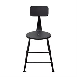 Diamond Sofa Douglas Bar Stool in Black (Set of 2)