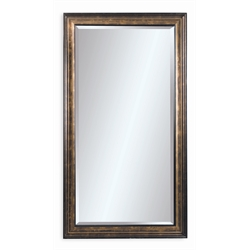 Bassett Mirror Beckett Leaner Mirror in Antique Bronze