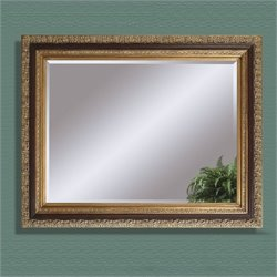 Bassett Mirror Eleganza Wall Mirror in Antique Gold Leaf