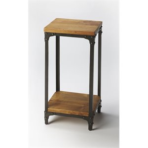 Butler Specialty Industrial Chic Accent Table in Multi-Color