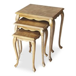 Butler Specialty Masterpiece Thatcher 3 Piece Nesting Table Set