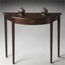 Butler Specialty Masterpiece Chester Console Table in Espresso
