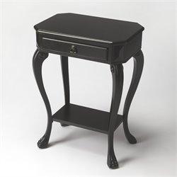 Butler Specialty Masterpiece Channing Console Table in Black Licorice