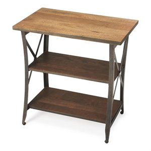 Butler Specialty Industrial Chic Overton End Table in Industrial Chic