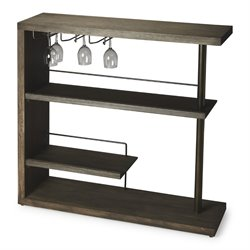 Butler Specialty Butler Loft Broadway Bar Cabinet in Cocoa