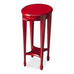 Butler Specialty Butler Loft Arielle Round End Table in Red