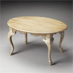 Butler Specialty Masterpiece Grace Oval Coffee Table in Driftwood