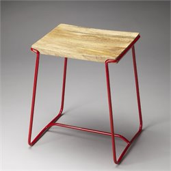 Butler Loft Parrish Stool in Red