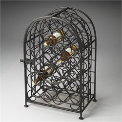 Butler Specialty Industrial Chic Clybourn Wine Rack in Iron