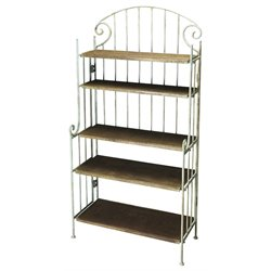 Butler Specialty Metalworks Forsyth Baker's Rack in Iron