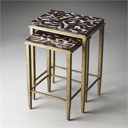 Butler Specialty Metalworks Mateo 2 Piece Nesting Table Set