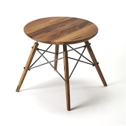 Butler Specialty Industrial Chic Accent Table in Light Brown