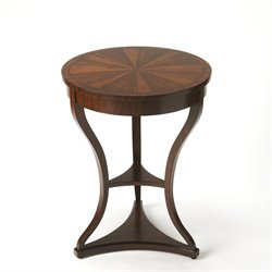 Butler Specialty Connoisseurs Salma End Table in Mahogany