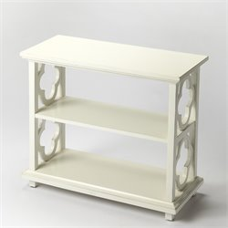 Butler Specialty Masterpiece 3 Shelf Paloma Bookcase in Cottage White