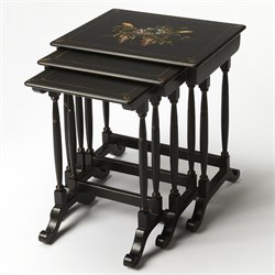 Smithsonian Castle 3 Piece Nesting Table Set