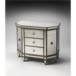 Butler Specialty Masterpiece Accent Chest in Silver