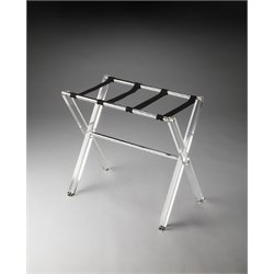 Butler Specialty Butler Loft Luggage Rack in Clear